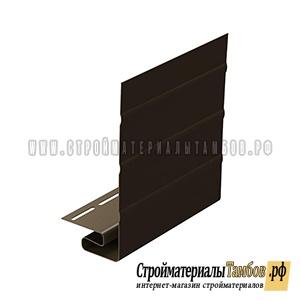 J-фаска Docke ШОКОЛАД 3050мм х 203,2мм (20шт/уп)(PSJF-1050)