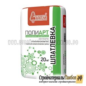 Шпатлевка полимерная Полиарт  Старатели 20 кг 77 шт.палл
