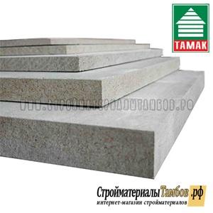 ЦСП ТАМАК (3100*1200*12мм) 3,72м2;  55шт/пал
